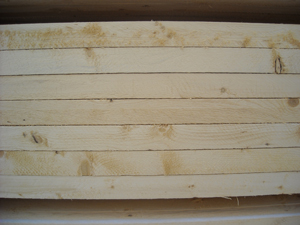Photo of sawn boards